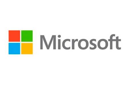Logotipo actual de Microsoft