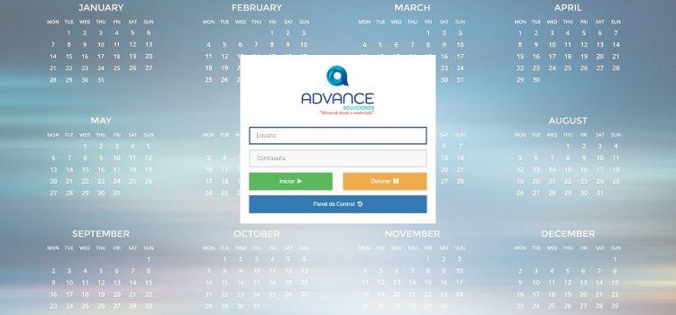 Registro jornada trabajo Navision