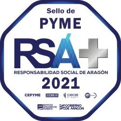 Premio Responsabilidad Social Aragón + 2021 - ADVANCE SOLUCIONES